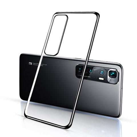 Custodia Silicone Trasparente Ultra Sottile Cover Morbida H03 per Xiaomi Mi 10 Ultra Nero