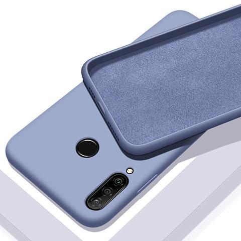 Custodia Silicone Ultra Sottile Morbida 360 Gradi Cover per Huawei Honor 20 Lite Cielo Blu