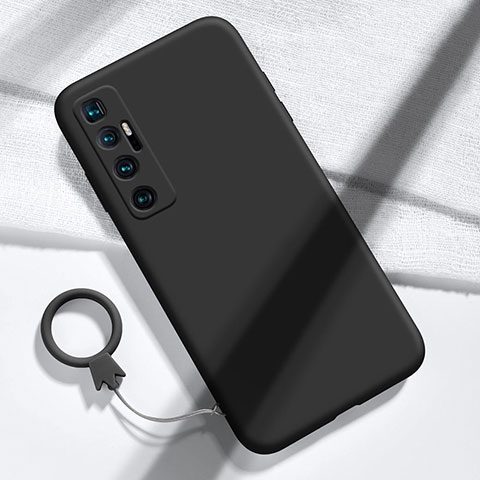 Custodia Silicone Ultra Sottile Morbida 360 Gradi Cover per Xiaomi Mi 10 Ultra Nero