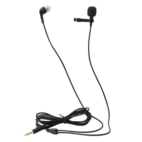Microfono Mini Stereo Karaoke 3.5mm K05 Nero