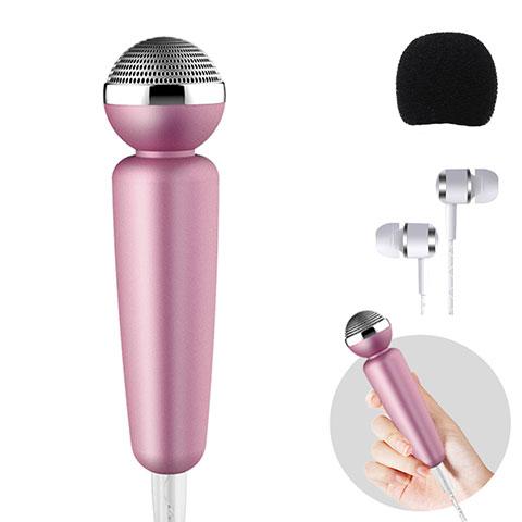 Microfono Mini Stereo Karaoke 3.5mm M10 Nero