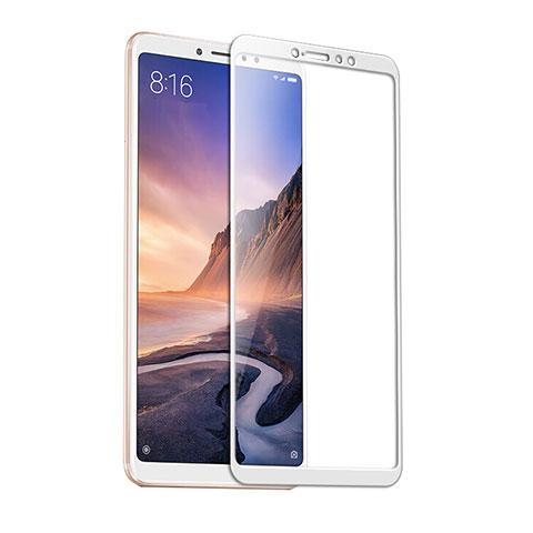 Pellicola in Vetro Temperato Protettiva Integrale Proteggi Schermo Film F09 per Xiaomi Mi Mix 3 Bianco