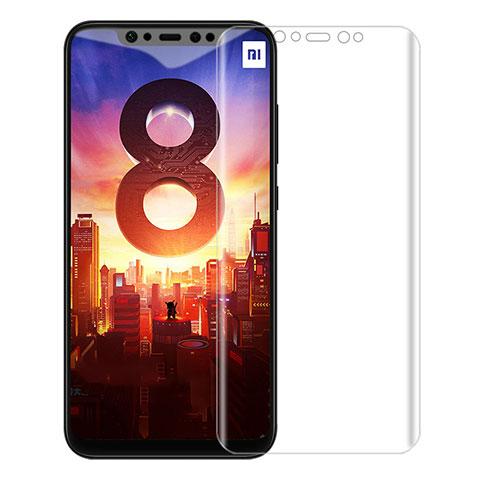 Pellicola in Vetro Temperato Protettiva Proteggi Schermo Film per Xiaomi Mi 8 Pro Global Version Chiaro