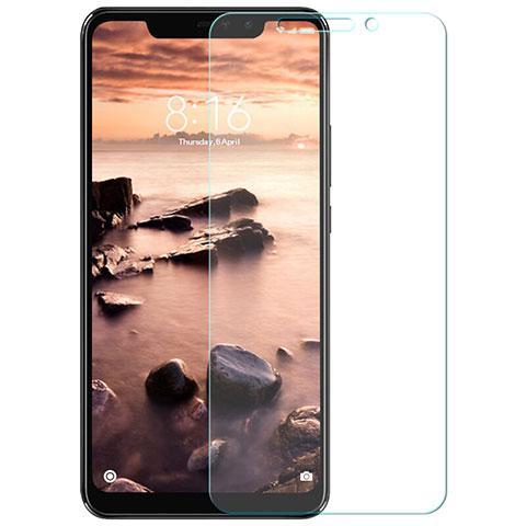 Pellicola in Vetro Temperato Protettiva Proteggi Schermo Film T02 per Xiaomi Redmi Note 6 Pro Chiaro