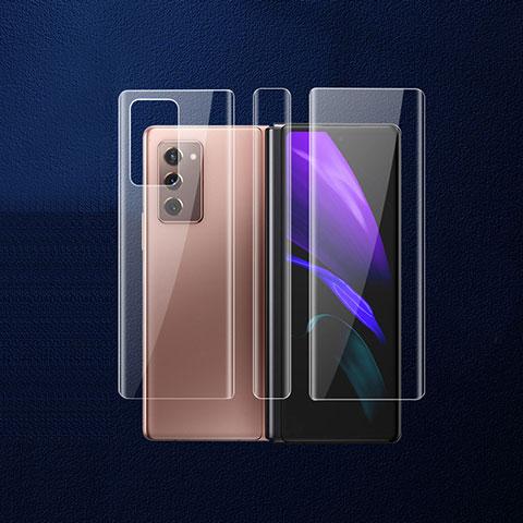 Pellicola Protettiva Retro Proteggi Schermo Film B01 per Samsung Galaxy Z Fold2 5G Chiaro