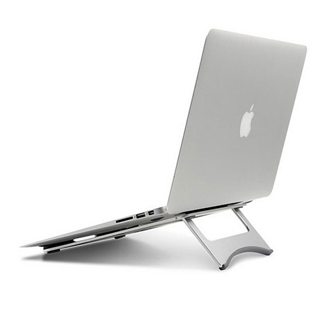 Supporto Computer Sostegnotile Notebook Universale per Apple MacBook Pro 13 pollici Argento