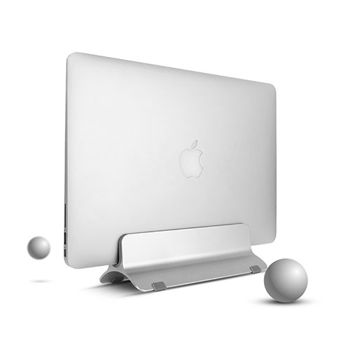 Supporto Computer Sostegnotile Notebook Universale S01 per Apple MacBook 12 pollici Argento