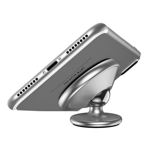Supporto Magnetico Smartphone Da Auto Universale Argento
