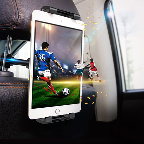 Supporto Sostegno Auto Sedile Posteriore Supporto Tablet PC Universale B01 per Xiaomi Mi Pad Nero