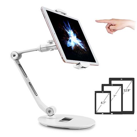 Supporto Tablet PC Flessibile Sostegno Tablet Universale H08 per Xiaomi Mi Pad 4 Plus 10.1 Bianco