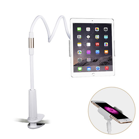 Supporto Tablet PC Flessibile Sostegno Tablet Universale T29 per Xiaomi Mi Pad Bianco