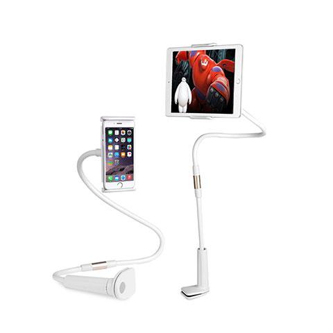 Supporto Tablet PC Flessibile Sostegno Tablet Universale T30 per Apple iPad 4 Bianco