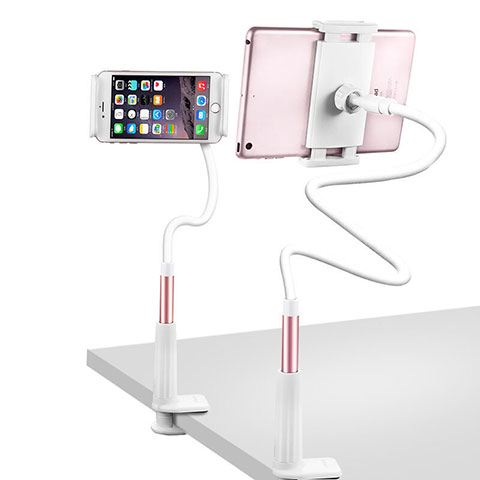 Supporto Tablet PC Flessibile Sostegno Tablet Universale T33 per Apple iPad 3 Oro Rosa