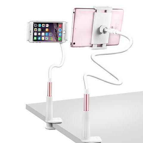 Supporto Tablet PC Flessibile Sostegno Tablet Universale T33 per Xiaomi Mi Pad 4 Oro Rosa