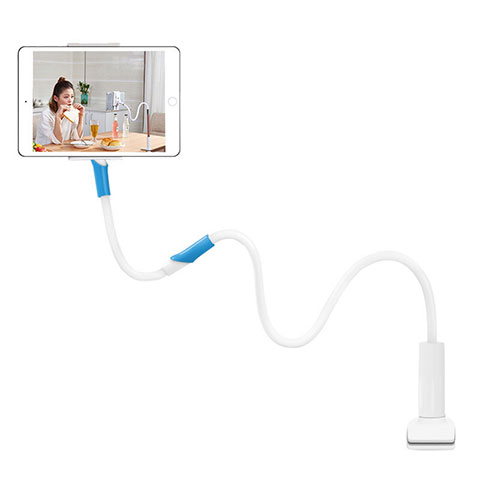 Supporto Tablet PC Flessibile Sostegno Tablet Universale T35 per Apple iPad 3 Bianco