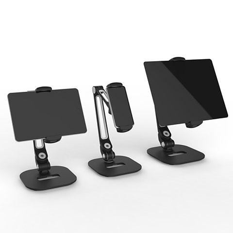Supporto Tablet PC Flessibile Sostegno Tablet Universale T44 per Apple iPad 4 Nero