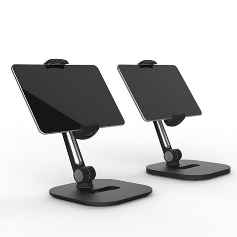 Supporto Tablet PC Flessibile Sostegno Tablet Universale T47 per Apple iPad 2 Nero
