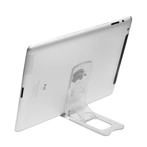 Supporto Tablet PC Sostegno Tablet Universale T22 per Apple iPad 4 Chiaro