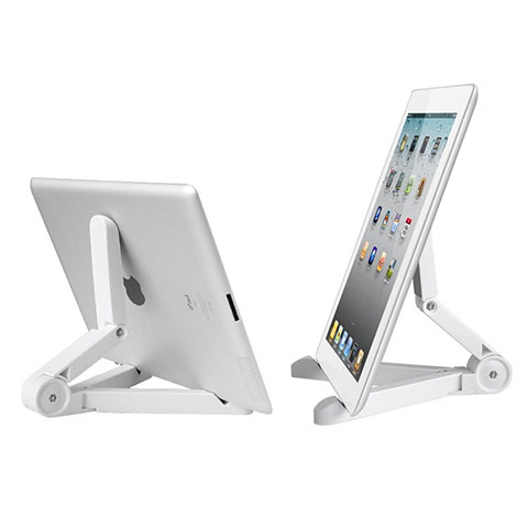 Supporto Tablet PC Sostegno Tablet Universale T23 per Apple iPad 4 Bianco