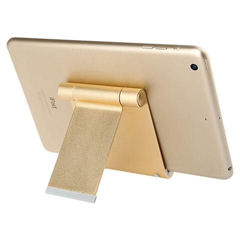 Supporto Tablet PC Sostegno Tablet Universale T27 per Xiaomi Mi Pad Oro