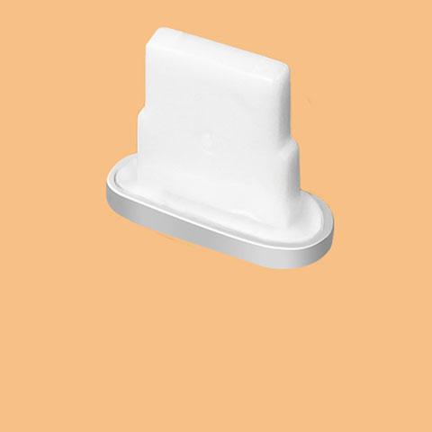 Tappi Antipolvere Anti-dust Lightning USB Jack Antipolvere J07 per Apple iPhone 11 Argento