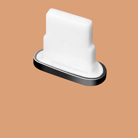 Tappi Antipolvere Anti-dust Lightning USB Jack Antipolvere J07 per Apple iPhone 11 Pro Nero