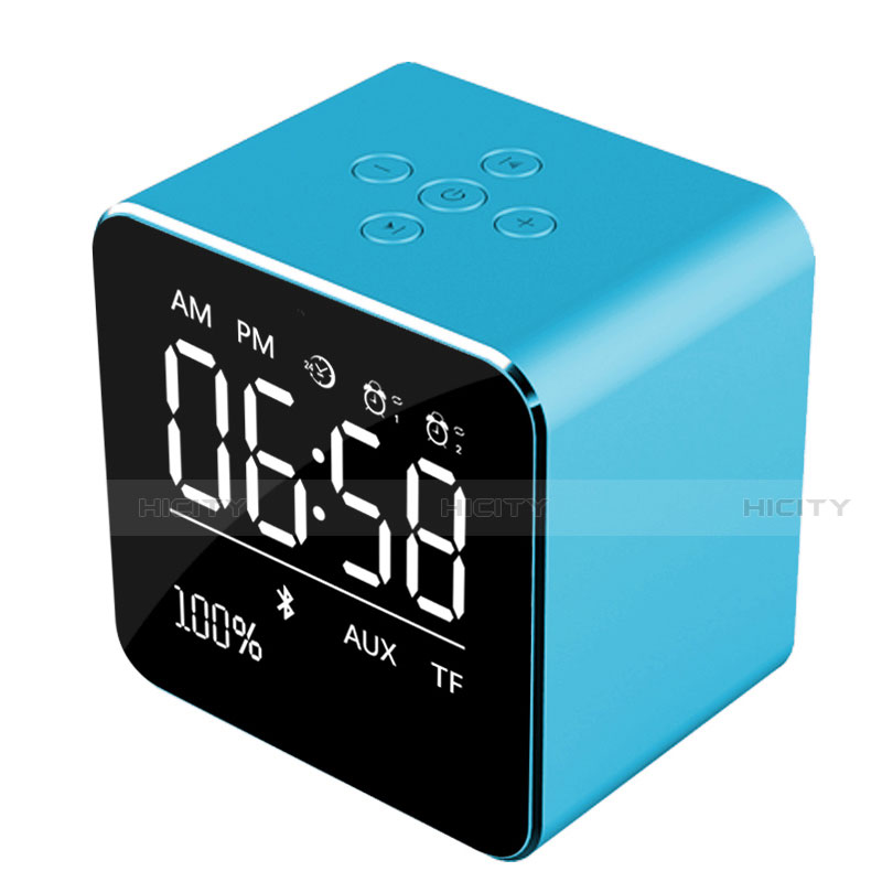 Altoparlante Casse Mini Bluetooth Sostegnoble Stereo Speaker K08 Blu