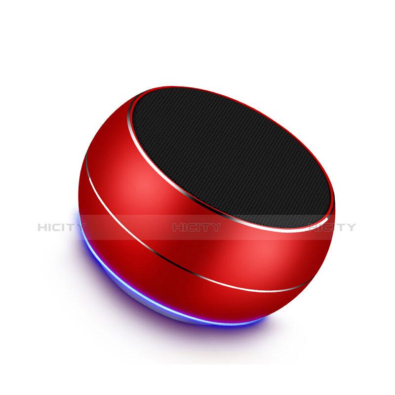 Altoparlante Casse Mini Bluetooth Sostegnoble Stereo Speaker Rosso