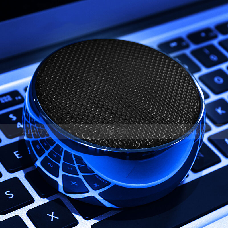 Altoparlante Casse Mini Bluetooth Sostegnoble Stereo Speaker S25 Blu