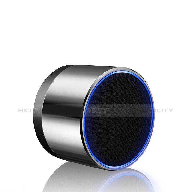 Altoparlante Casse Mini Bluetooth Sostegnoble Stereo Speaker S27 Argento