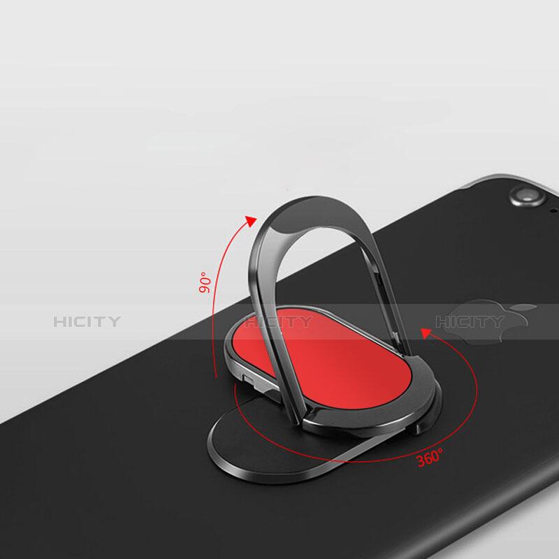 Anello Supporto Sostegno Cellulari Universale R07 Rosso