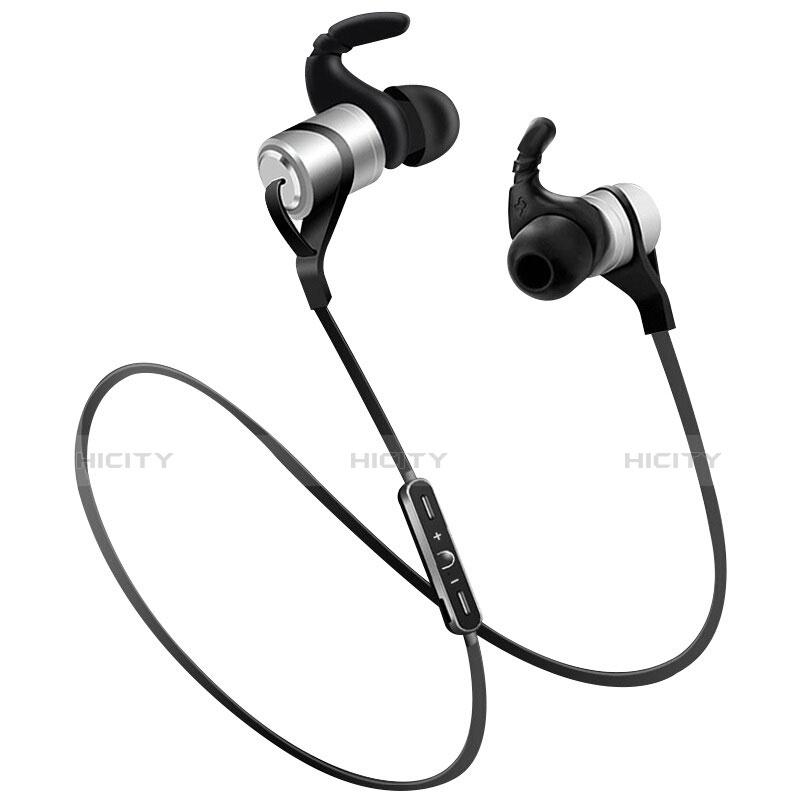 Auricolare Bluetooth Cuffie Stereo Senza Fili Sport Corsa H50 Argento