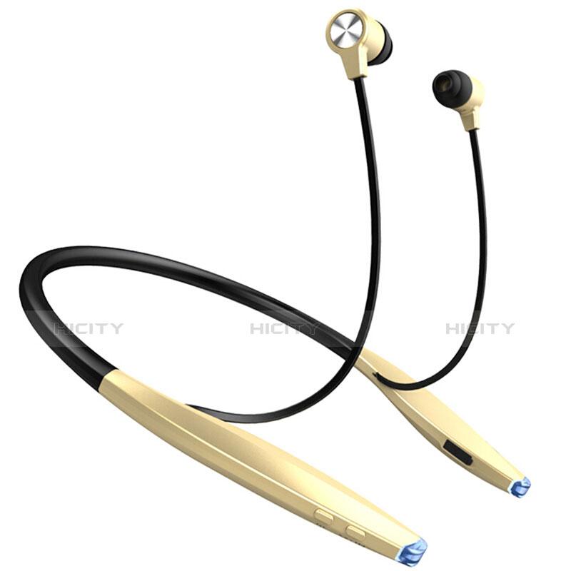 Auricolare Bluetooth Cuffie Stereo Senza Fili Sport Corsa H51 Oro