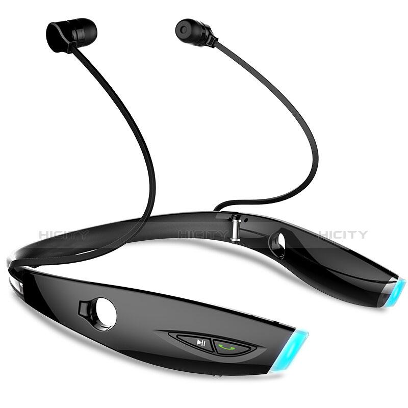 Auricolare Bluetooth Cuffie Stereo Senza Fili Sport Corsa H52 Nero