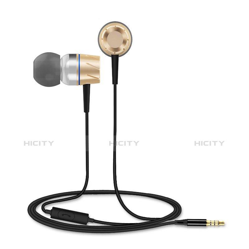 Auricolari Cuffie In Ear Stereo Universali Sport Corsa H30 Oro
