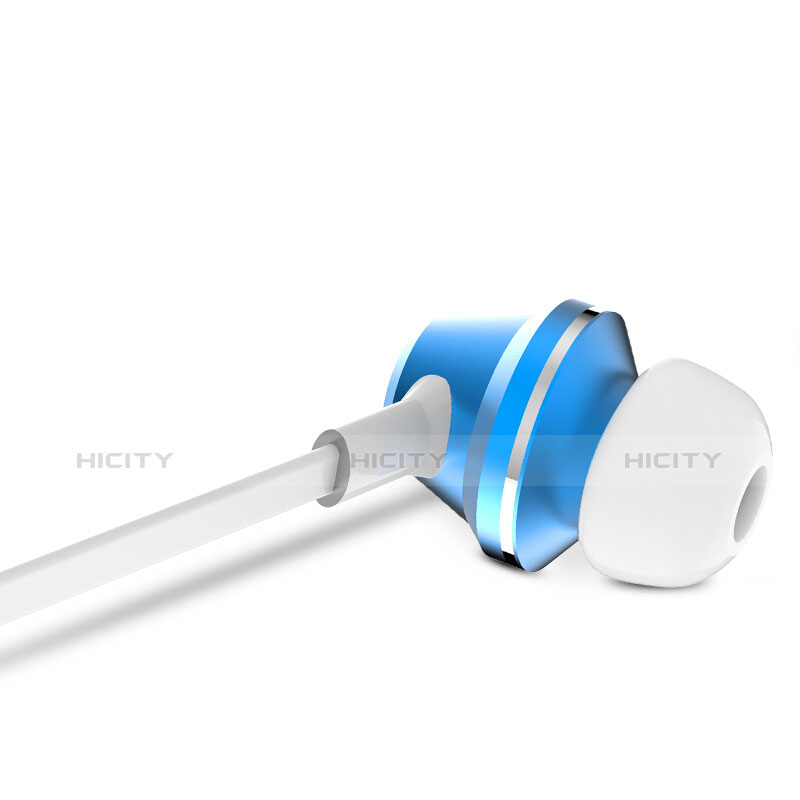 Auricolari Cuffie In Ear Stereo Universali Sport Corsa H37 Blu