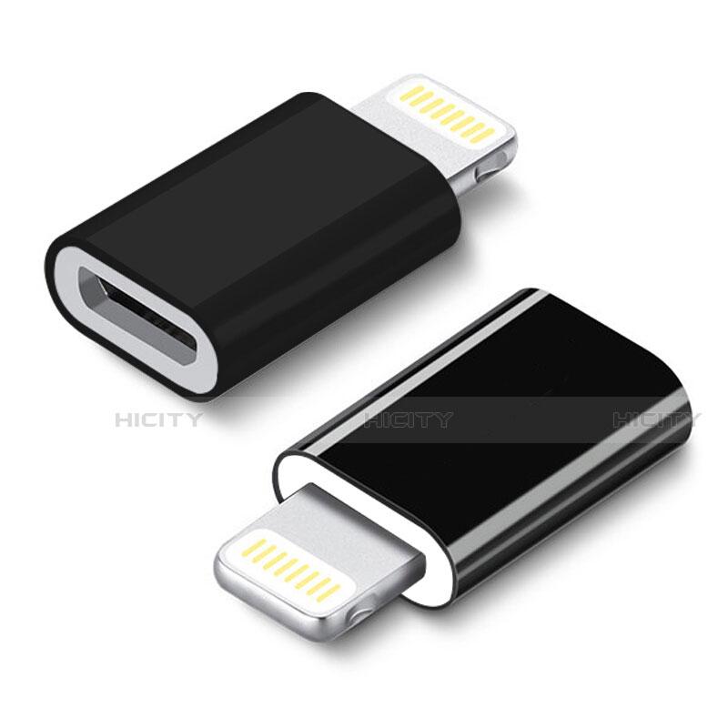Cavo Android Micro USB a Lightning USB H01 per Apple iPhone 11 Nero