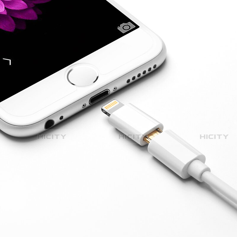 Cavo Android Micro USB a Lightning USB H01 per Apple iPhone 11 Pro Bianco
