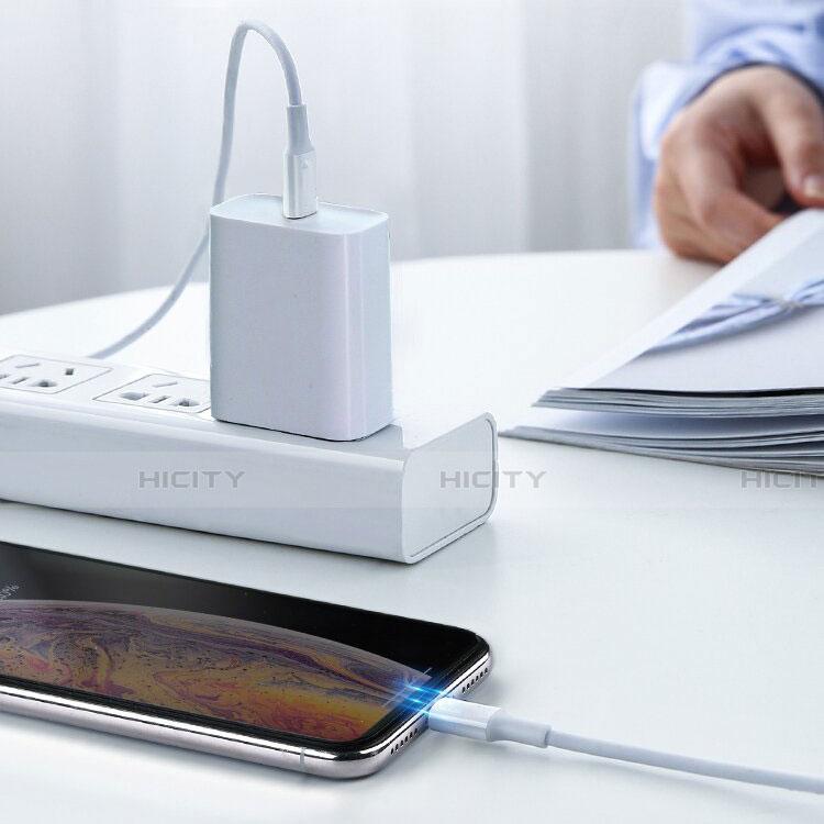 Cavo da USB a Cavetto Ricarica Carica C02 per Apple iPhone 11 Bianco
