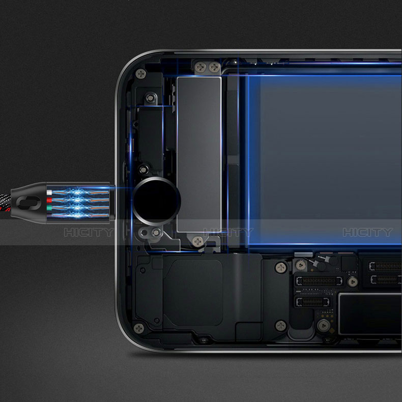 Cavo da USB a Cavetto Ricarica Carica C04 per Apple iPhone 11