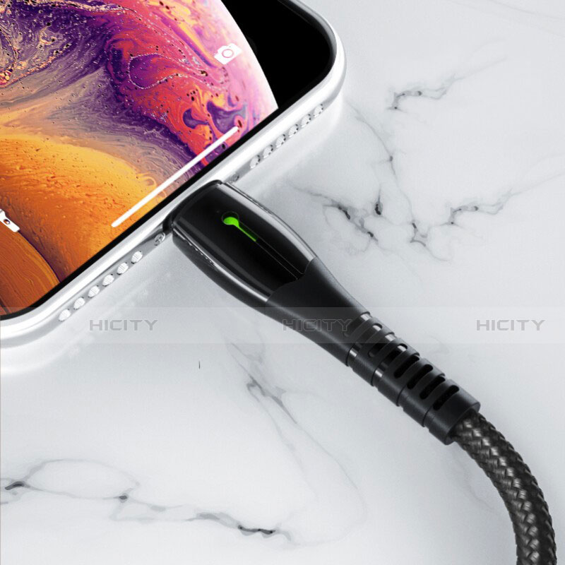 Cavo da USB a Cavetto Ricarica Carica D23 per Apple iPhone 11 Pro