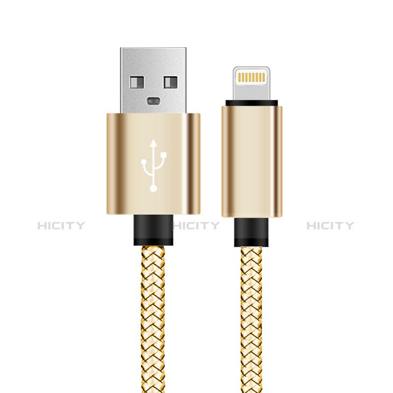 Cavo da USB a Cavetto Ricarica Carica L07 per Apple iPhone 11 Oro