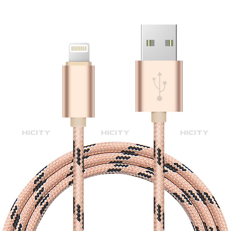 Cavo da USB a Cavetto Ricarica Carica L10 per Apple iPhone 11 Oro