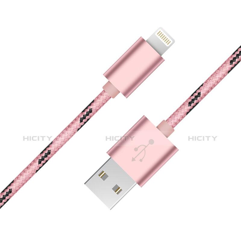 Cavo da USB a Cavetto Ricarica Carica L10 per Apple iPhone 11 Rosa