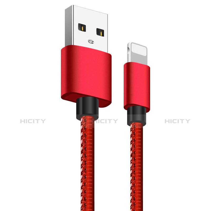 Cavo da USB a Cavetto Ricarica Carica L11 per Apple iPhone 11 Rosso