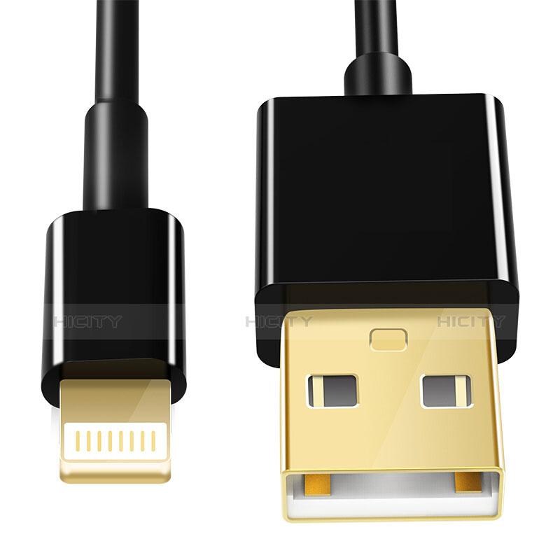Cavo da USB a Cavetto Ricarica Carica L12 per Apple iPhone 11 Nero