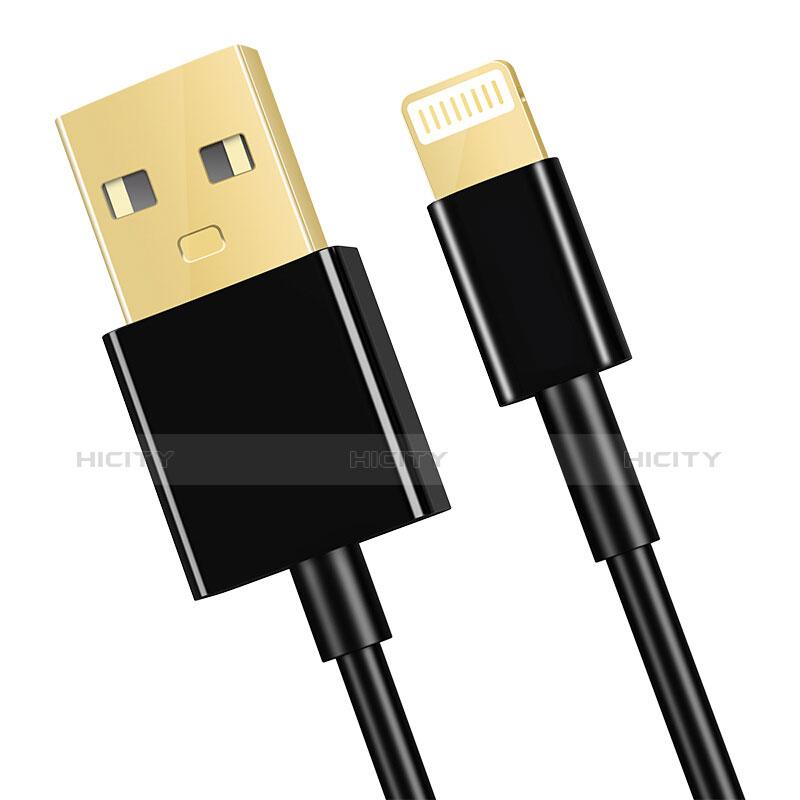 Cavo da USB a Cavetto Ricarica Carica L12 per Apple iPhone 11 Pro Nero