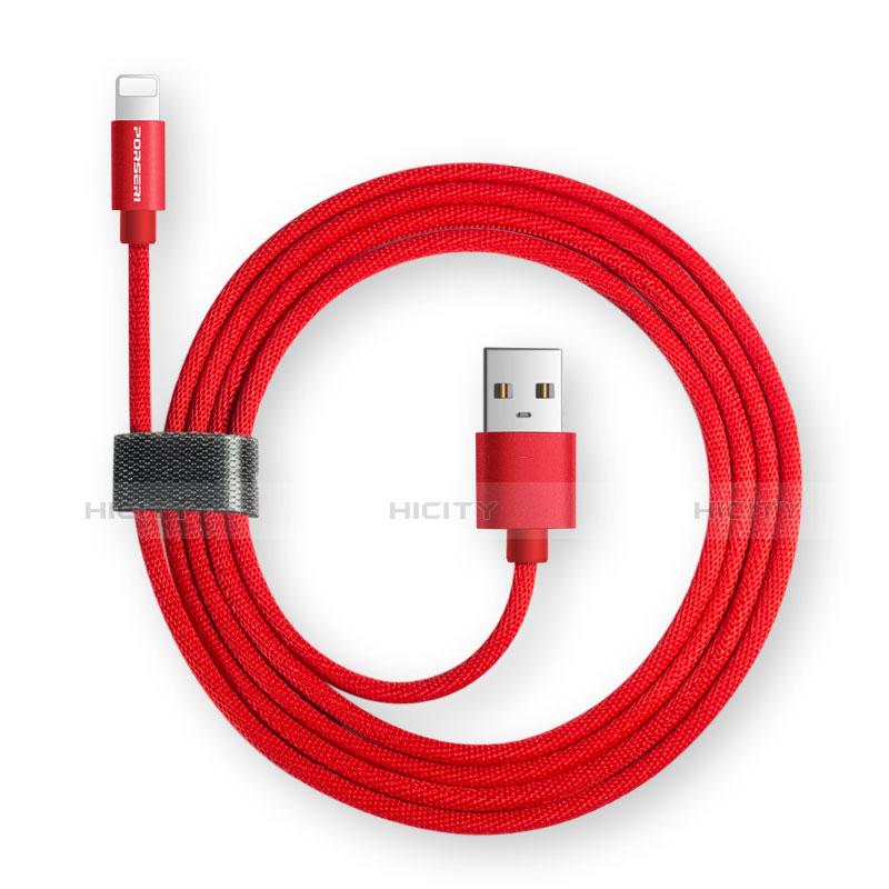 Cavo da USB a Cavetto Ricarica Carica L14 per Apple iPhone 11 Nero