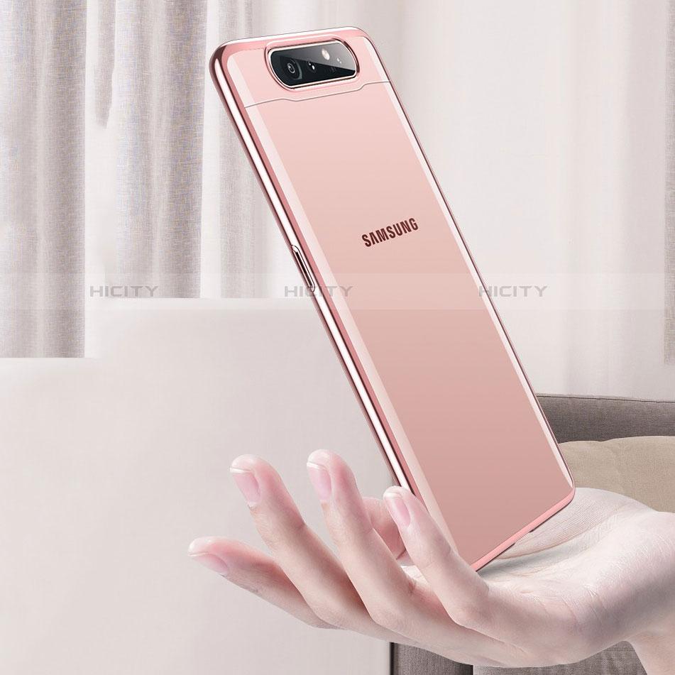 Cover Crystal Trasparente Rigida Cover H01 per Samsung Galaxy A80