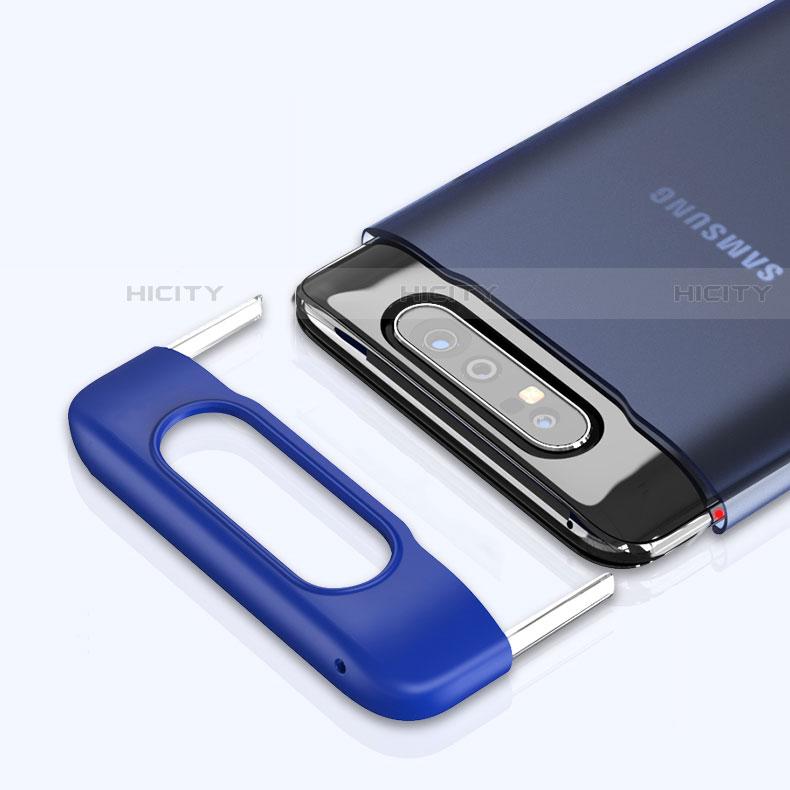Cover Crystal Trasparente Rigida Cover H02 per Samsung Galaxy A80